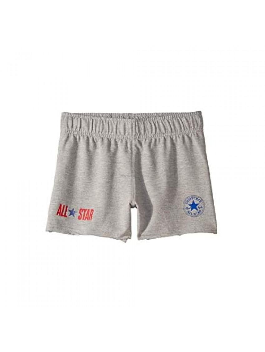 Converse Kids Girl's All Star Raw Edge Shorts (Big Kids)