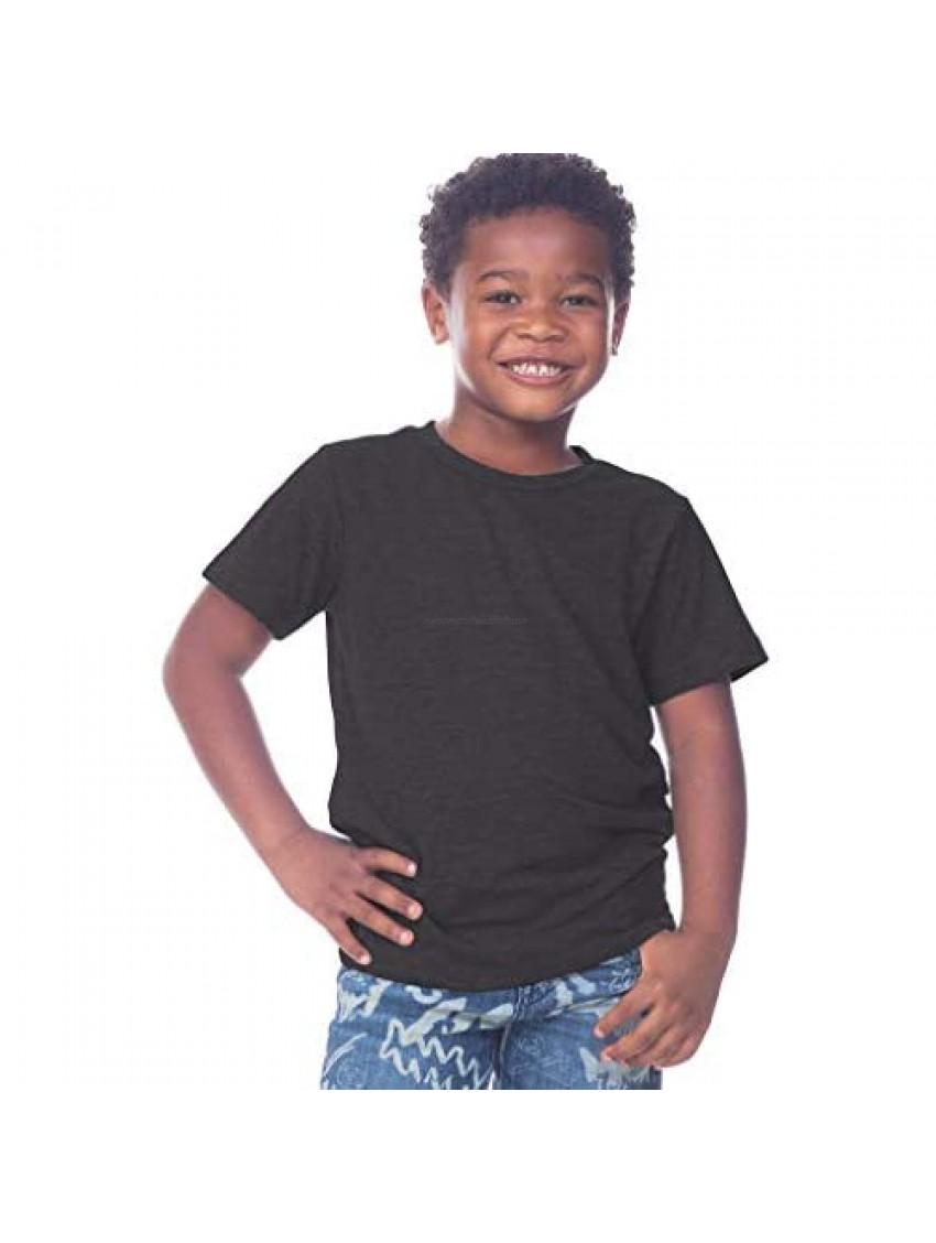 Kavio! Toddlers Slub Crew Neck Short Sleeve