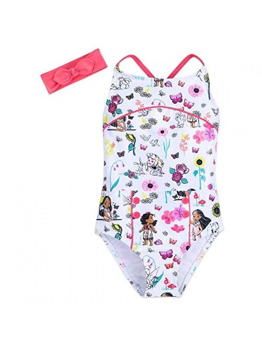 Disney Animators' Collection Swimsuit Set for Girls