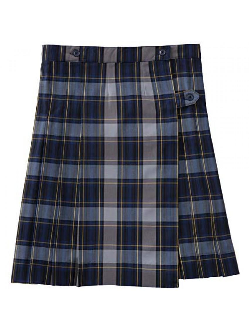 Classroom School Uniform Kilt Model Girls Regular Skirt 5PC5372A  10  Navy