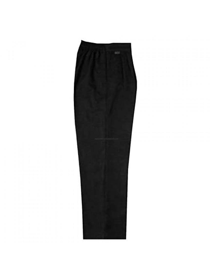 Rimi Hanger Boys School Wear Half Elasticated Strudy Fit Trouser Girl Stretchy Uniform Pants Small/4X-Large