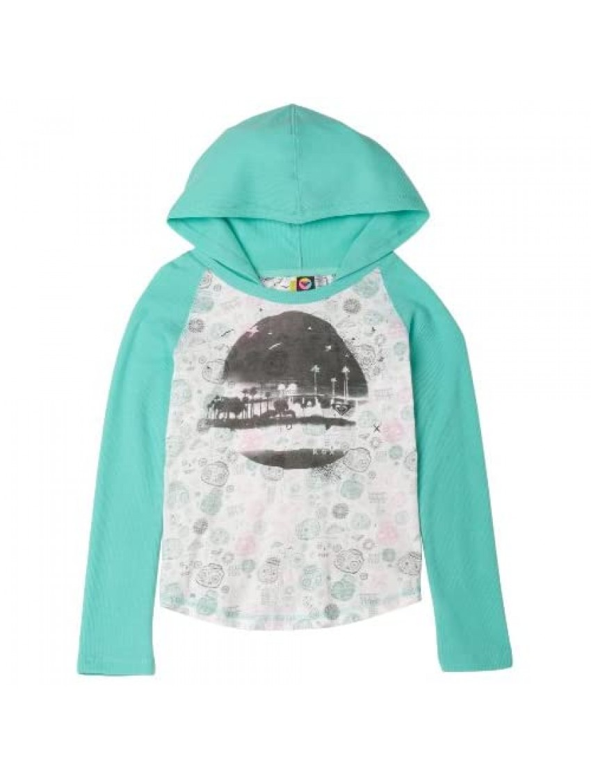 Roxy Big Girls' Out And About Lightweight Thermal Hoodie Top