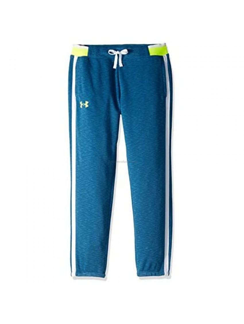 Under Armour girls She Plays We Win Crop Joggers Pants