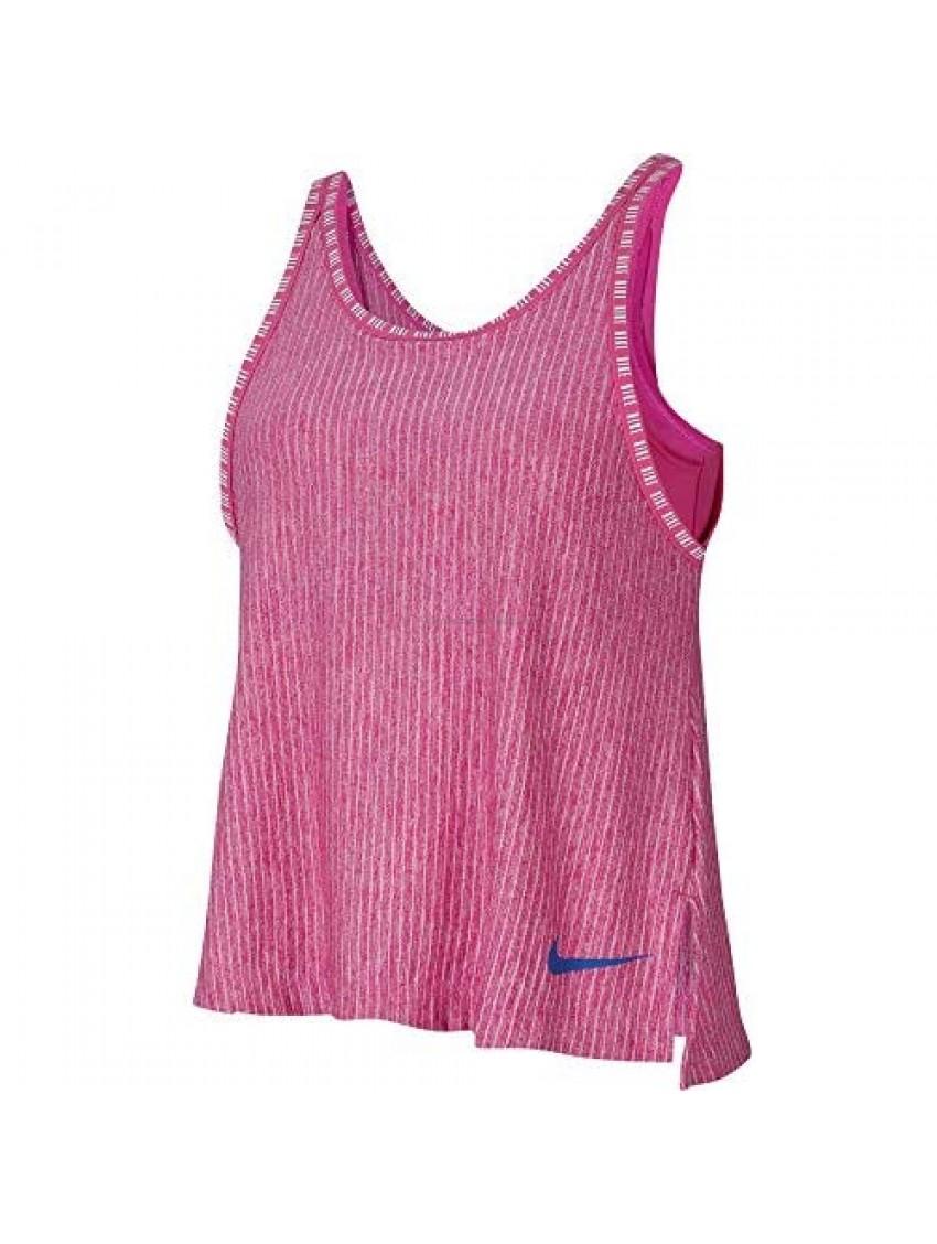 Nike Girls' 2-in-1 Dri-FIT Big Kids Training Tank Top Size