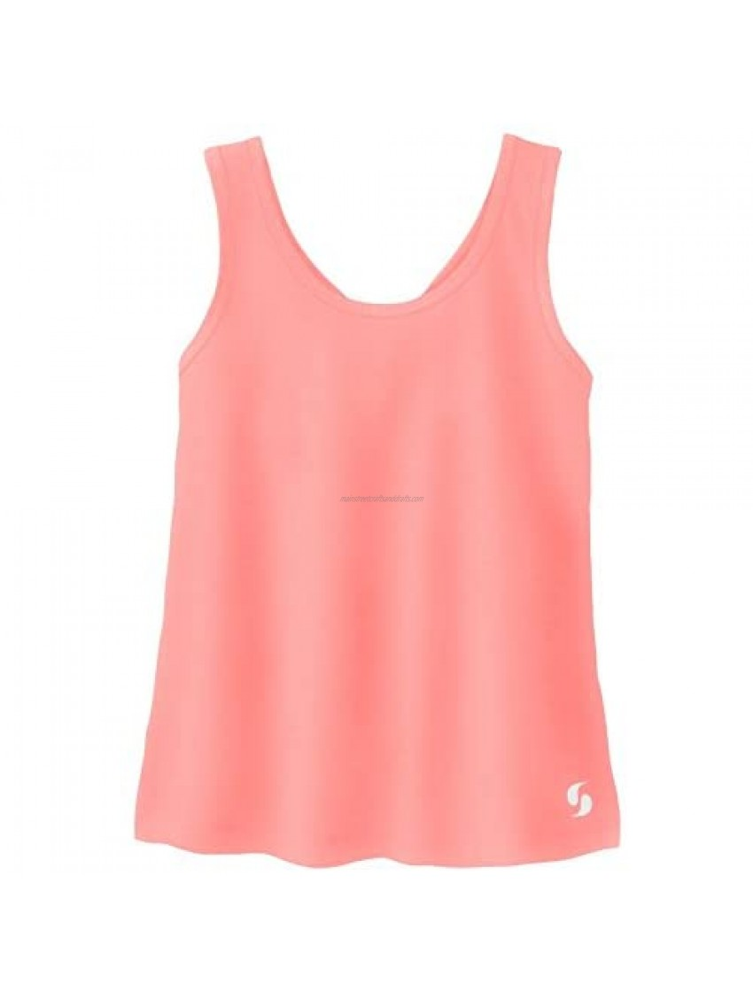 Soffe Girls' Knotted Racerback