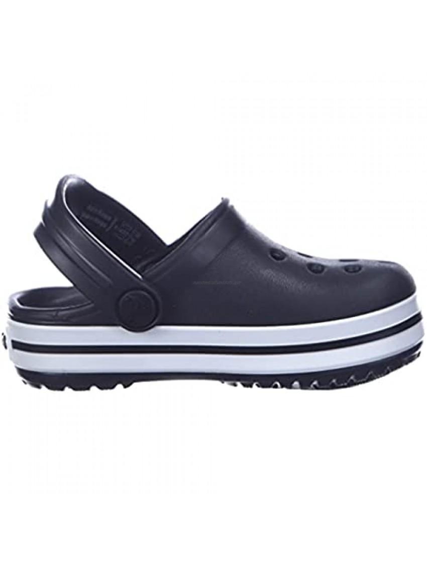 Crocs Kids' Crocband Clog Black (Black 001) 4 Children