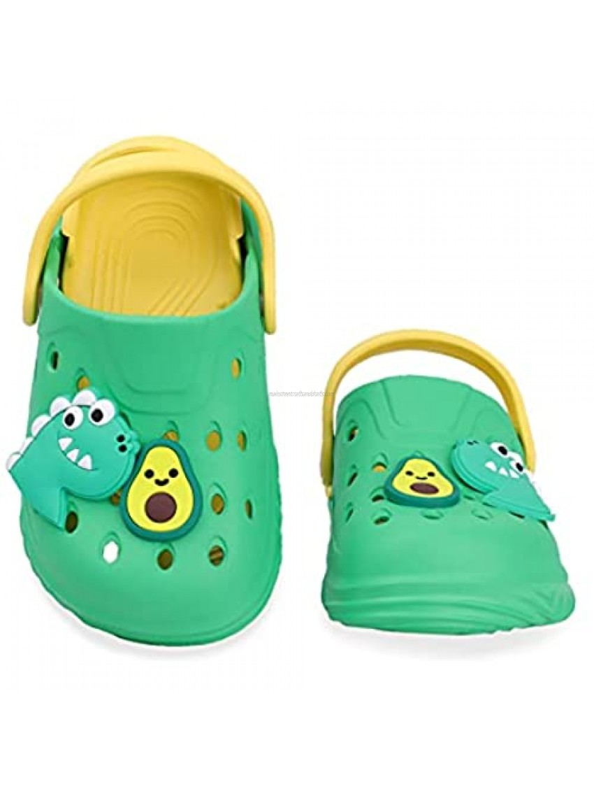 Toddler Garden Clogs Kids Slip On Water Shoes for Boys and Girls Non Slip Sandals Children Slippers Summer for Beach Pool Indoor Outdoor