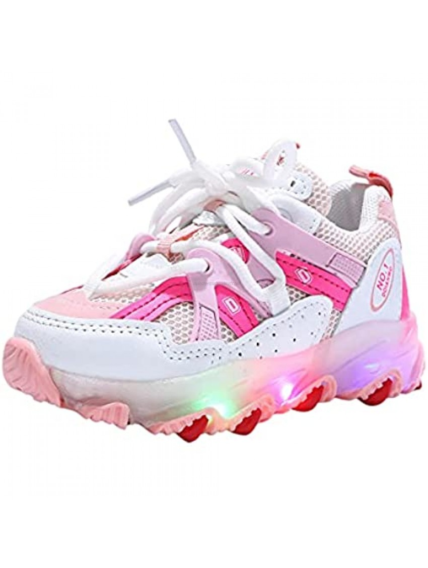 USYFAKGH Kids LED Shoes Low-Top Light Up Shoes for Girls Boys Child Fashion Unisex LED Sneakers