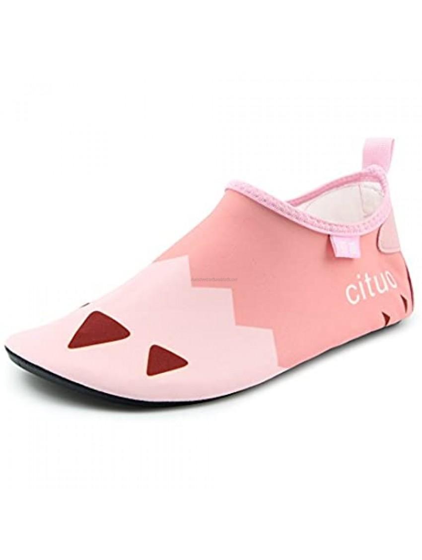 Boy's Girl's Swimming Water Shoes Kid Aqua Barefoot Sock(Toddler/Little Kid/Big Kid)