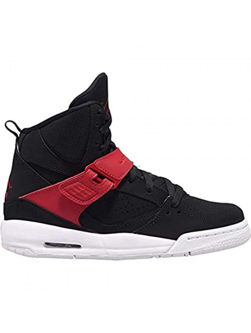 Jordan Kids Flight 45 High (GS) 845095-006 Black/Gym Red-White