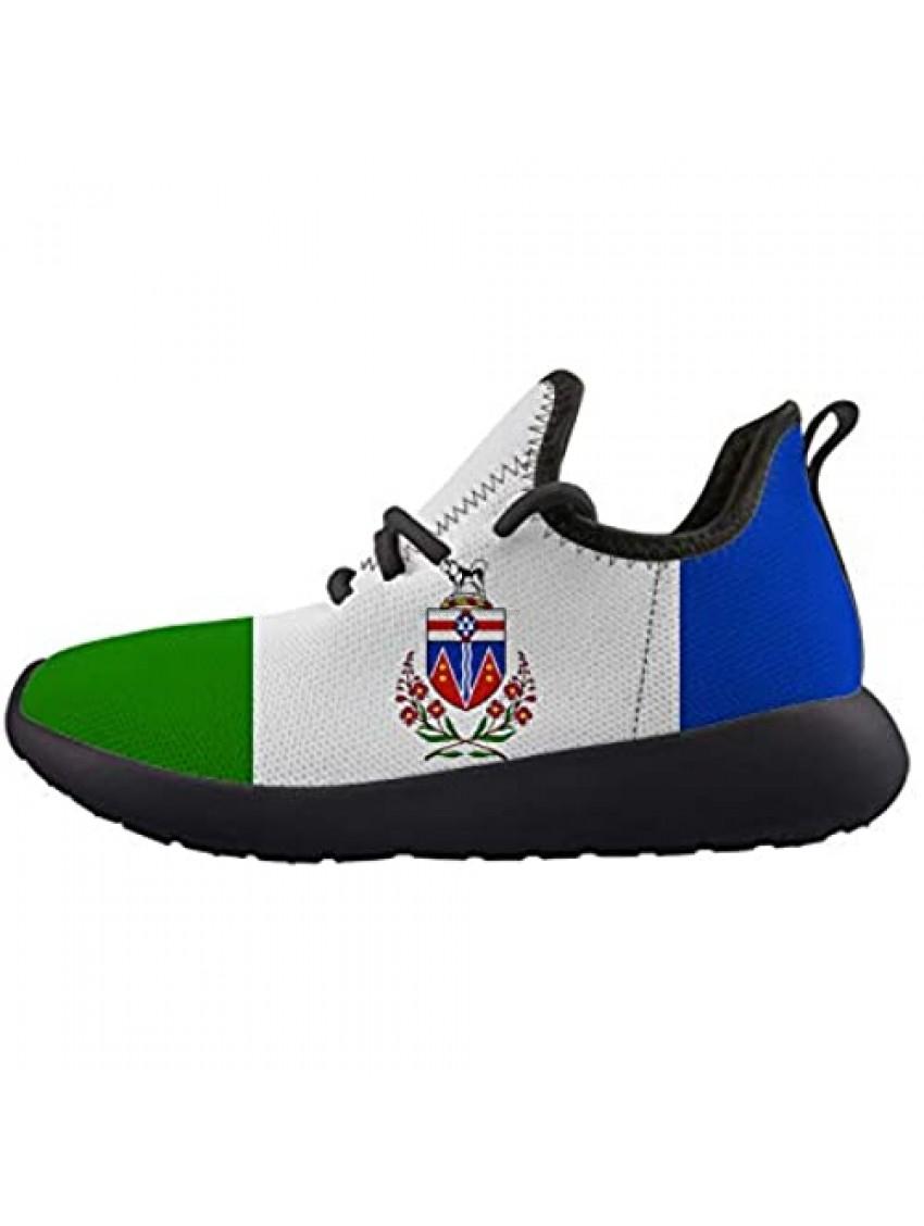 Yukon Flag Kids Sneaker Lightweight Breathable Running Tennis Boys Girls Shoes