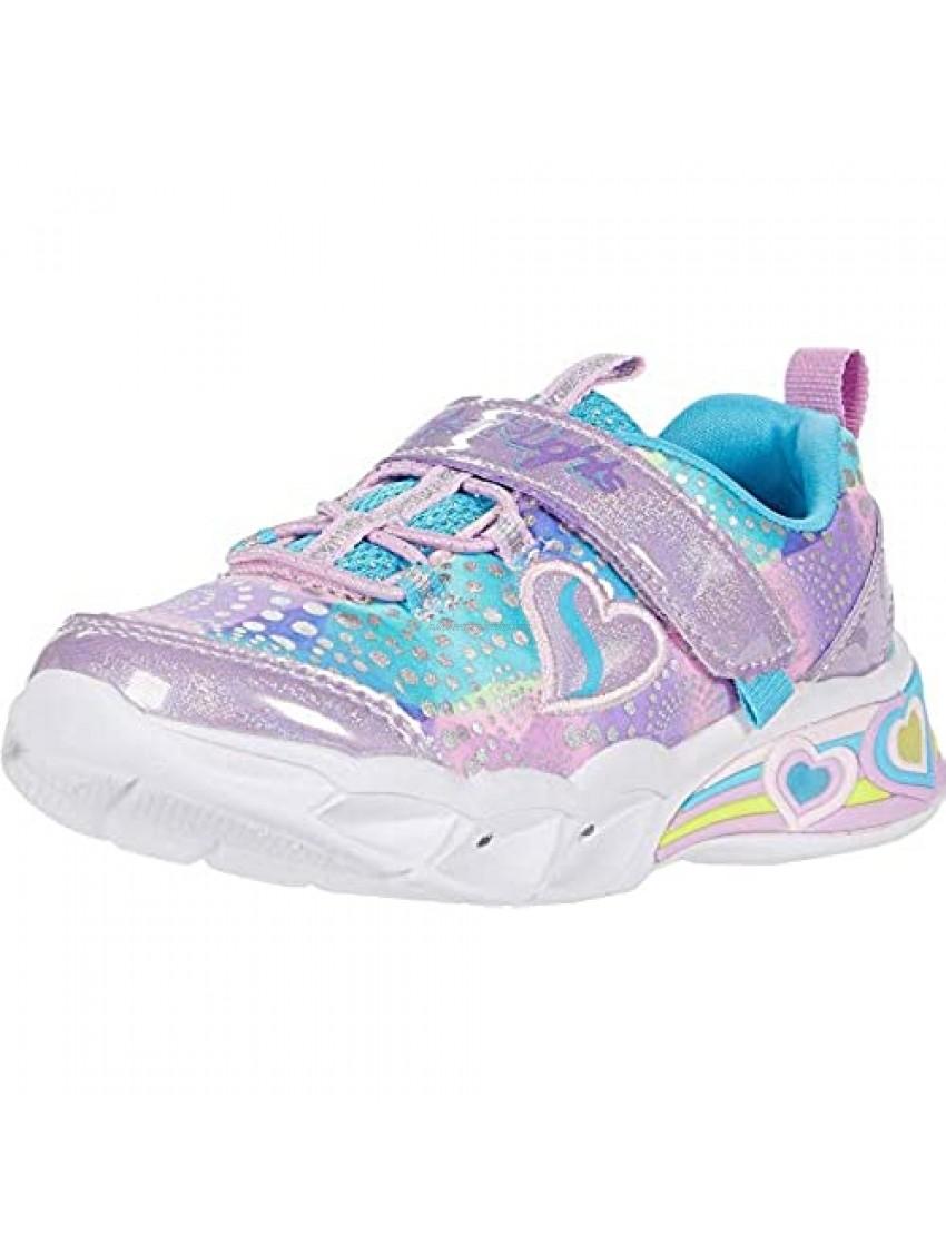 Skechers Unisex-Child Sweetheart Lights Sneaker
