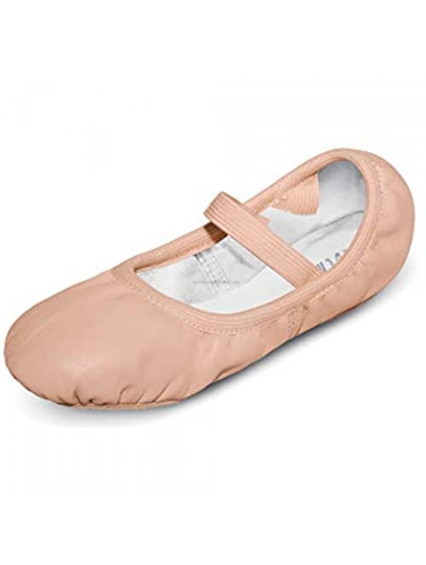 Bloch Kids Girl's Giselle Ballet (Toddler/Little Kid) Theatrical Pink 9 Toddler B - Narrow/Medium