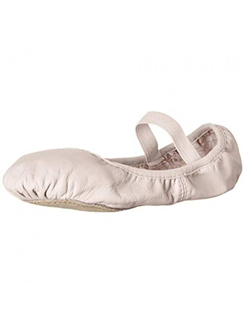 Bloch Unisex-Child Dance Girls' Belle Full-Sole Leather Ballet Shoe/Slipper