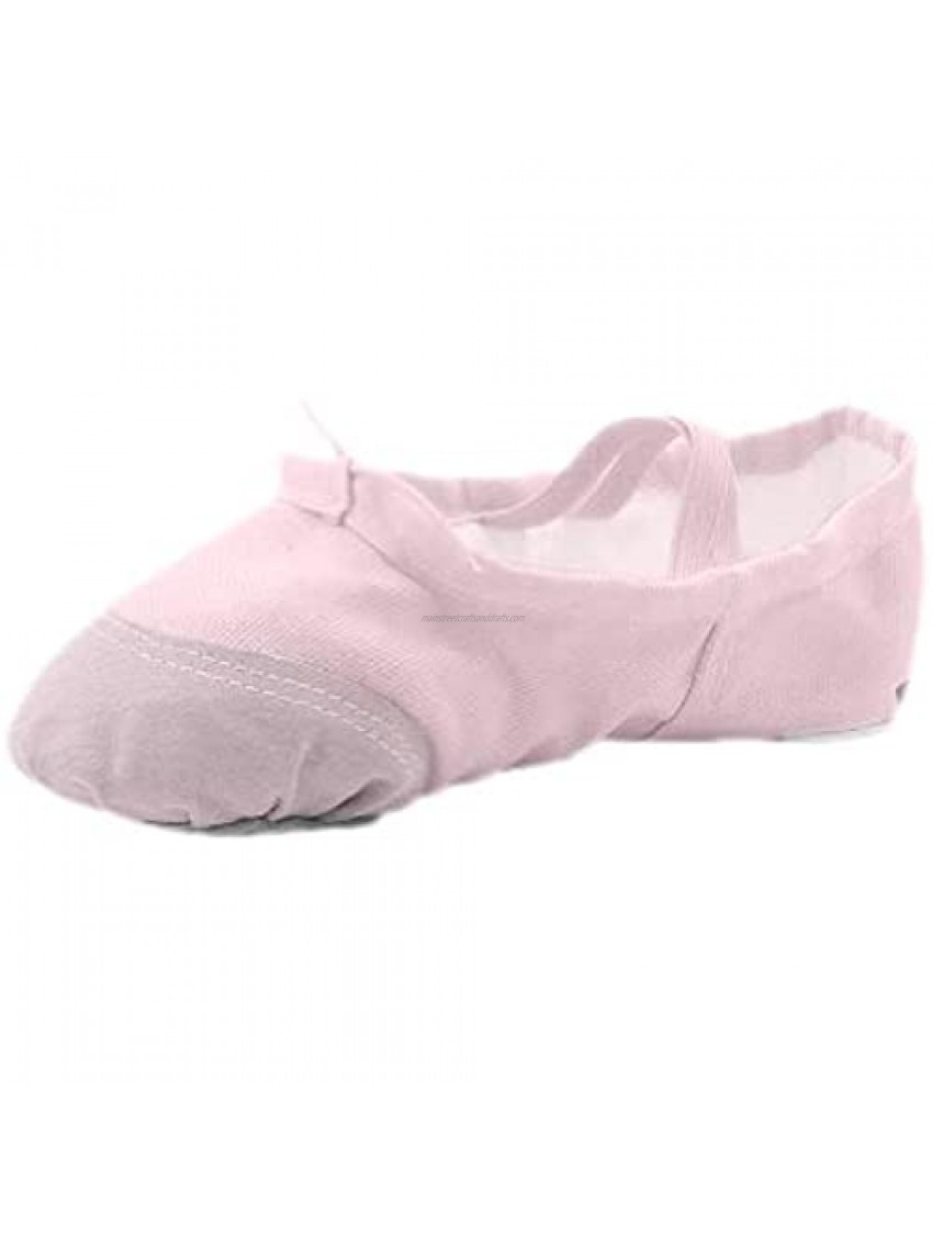 MSMAX Kids Ballet Flats Professional Performa Dance Party Shoe for Girls
