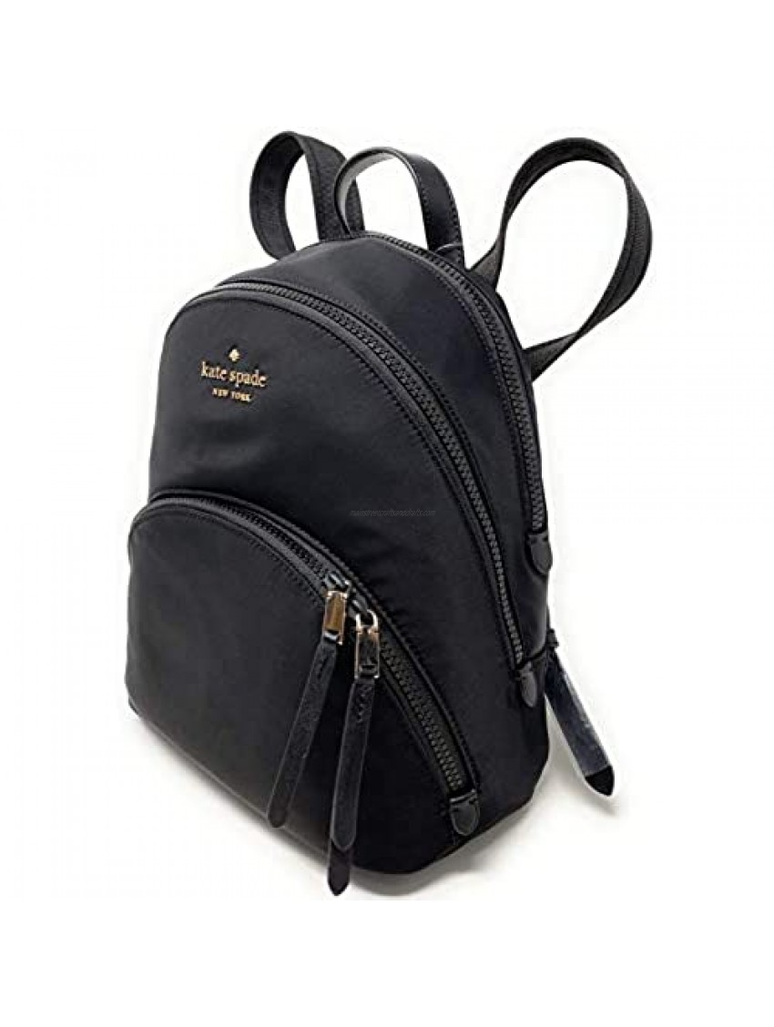 Kate Spade New York Karissa Medium Backpack Nylon (Black)