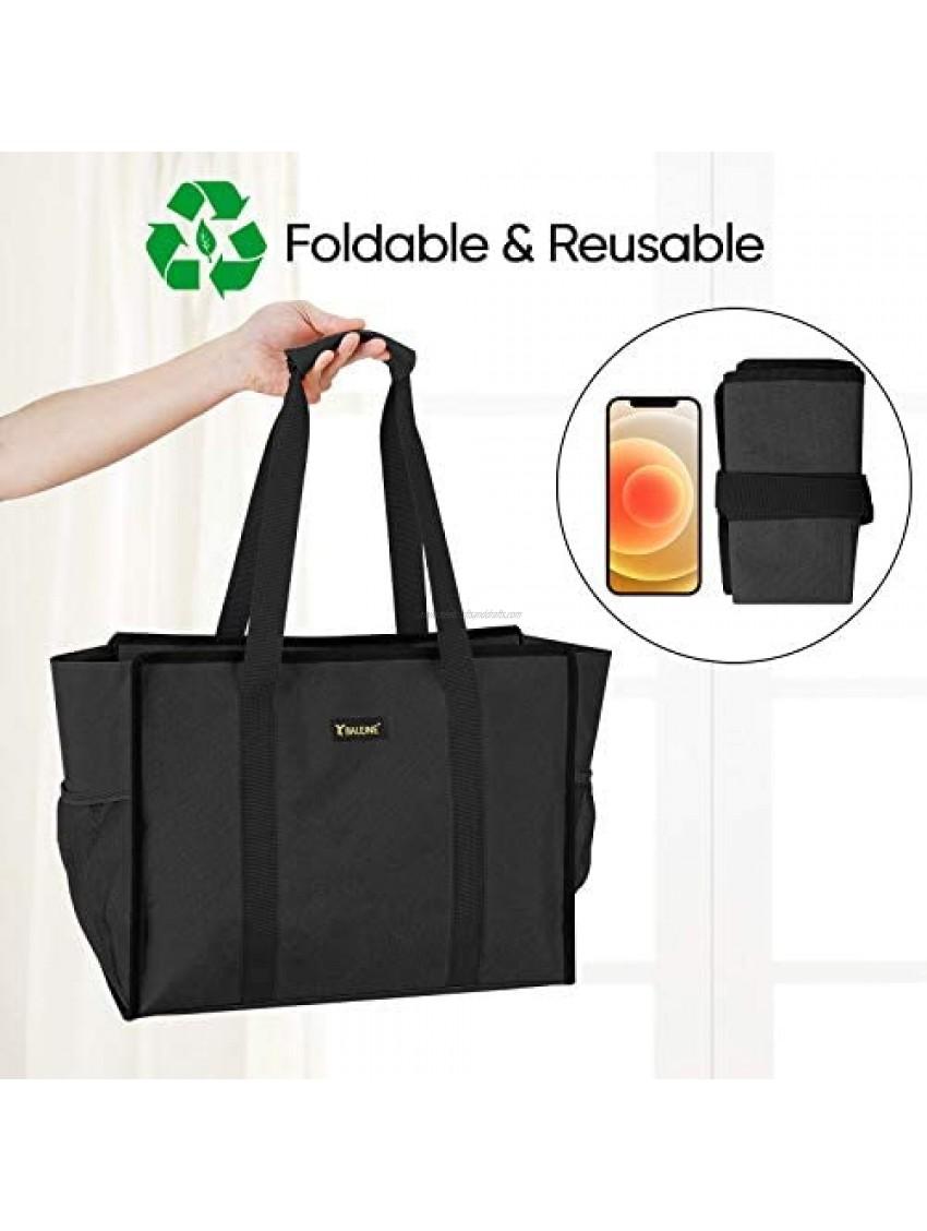 BALEINE Utility Tote Bag with Zip Top Slip & Interior Zipper Pocket