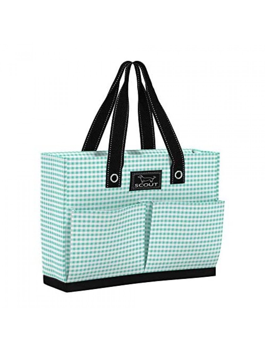 SCOUT Uptown Girl Tote Bag Lightweight Utility Tote Bag with 4 Exterior Pockets