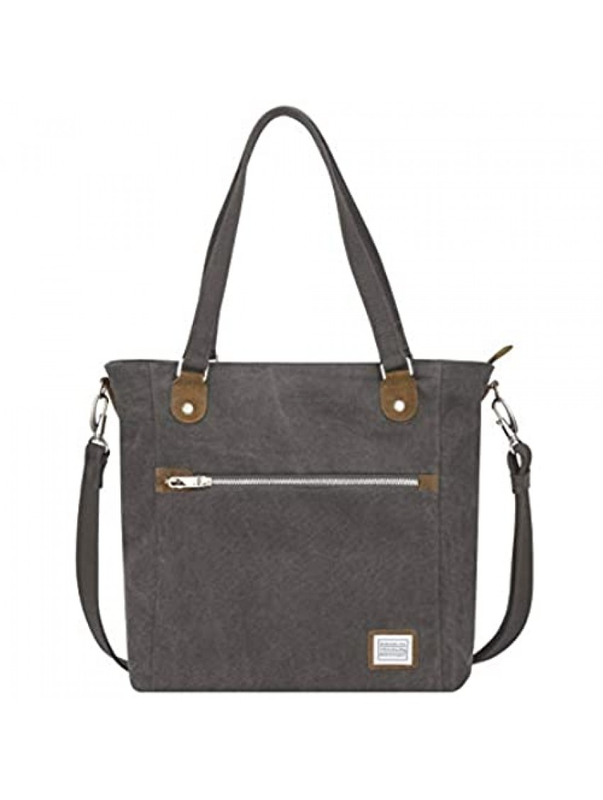 Travelon Anti-Theft Heritage Tote Bag  Pewter  One Size