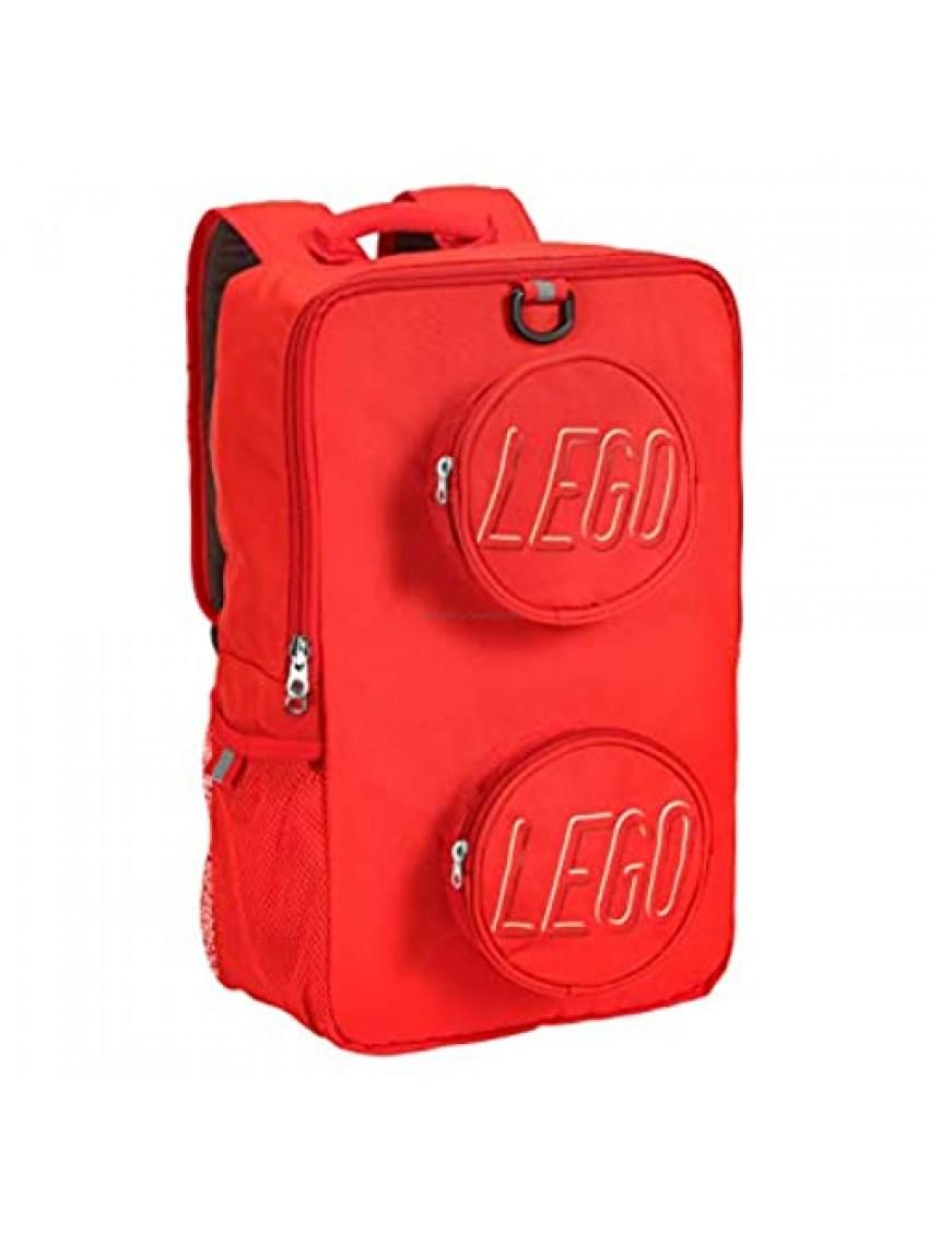 LEGO Brick Backpack - Red
