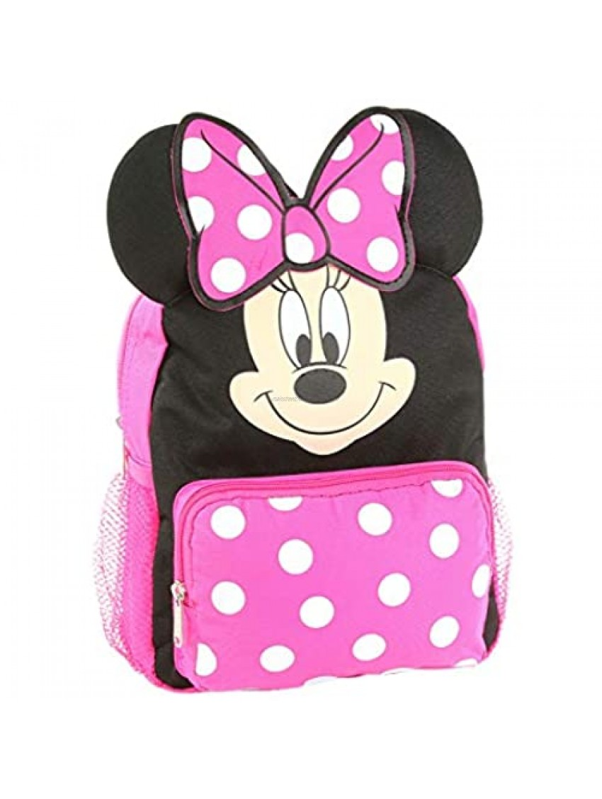 """Minnie Mouse 10"""" Big Face Mini Backpack Standard"""