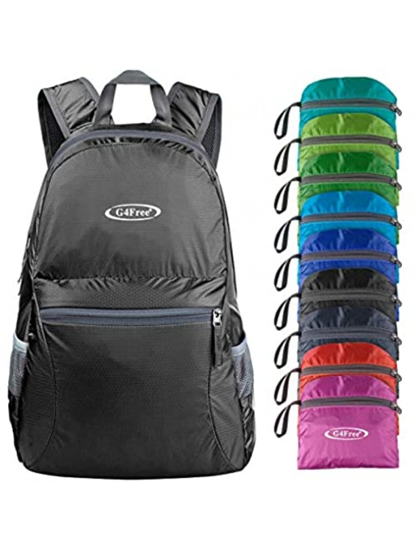 G4Free 20L Lightweight Packable Backpack Travel Hiking Daypack Foldable