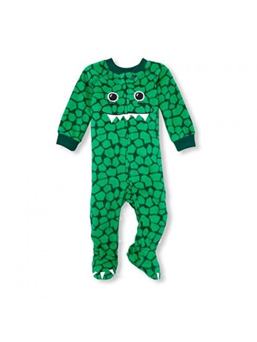 The Children's Place Baby Boys Animal Blanket Sleeper