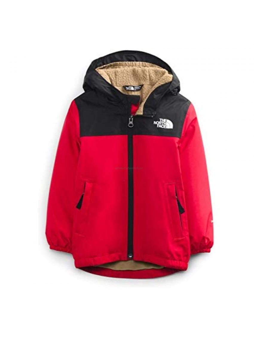 The North Face Toddler Warm Storm Rain Jacket TNF Red