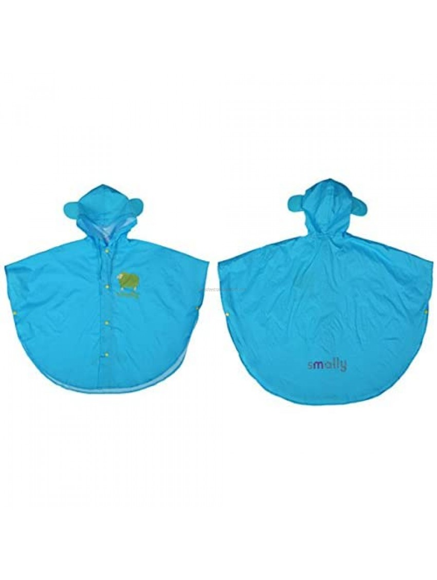 WYTbaby Kids Raincoat Ponchos Hooded Waterproof Overall Rainsuit for Boys and Girls