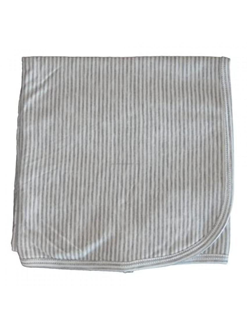 Kissy Kissy Baby Essentials Striped Receiving Blanket