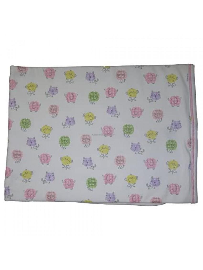Kissy Kissy Baby-Girls Infant Safari Smiles Print Receiving Blanket