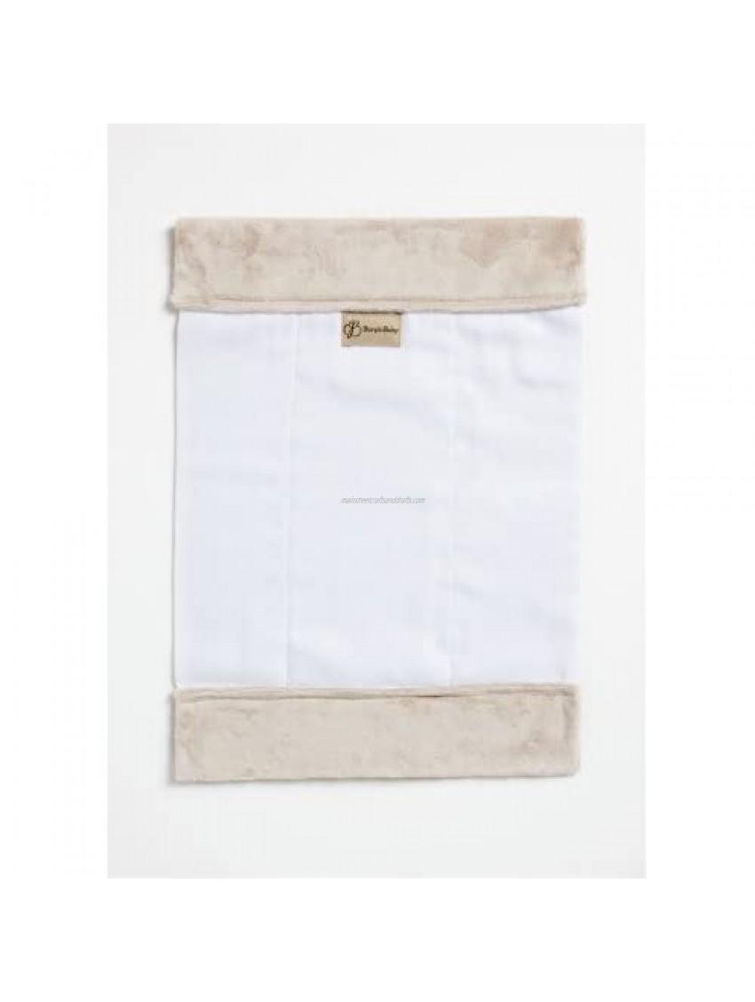Burp'nBaby Chenille Burp Cloth  Latte