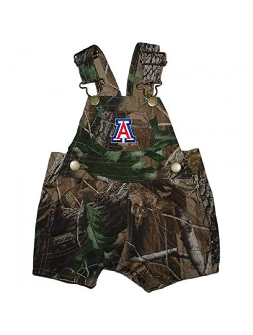 Creative Knitwear University of Arizona Camo Short Leg Overall