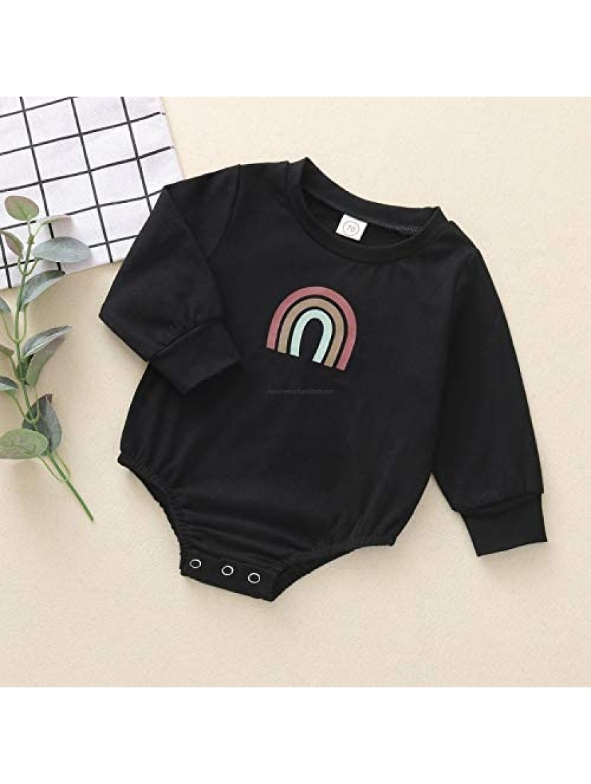 Dimoybabe Baby Girl Boy Romper Clothes Newborn Unisex Playsuit Infant Cotton Outfits Cute Long Sleeve 0-24 Months
