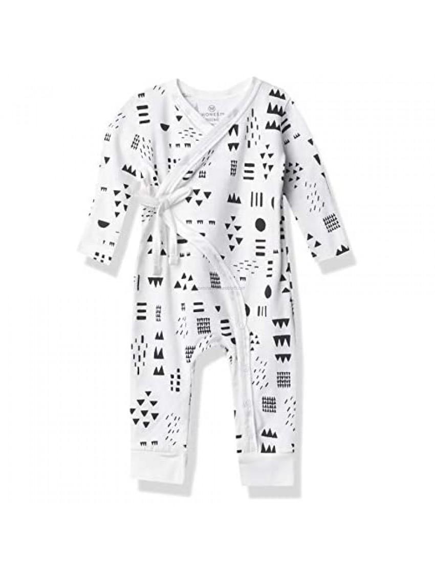 HonestBaby Baby Organic Cotton Kimono Coverall