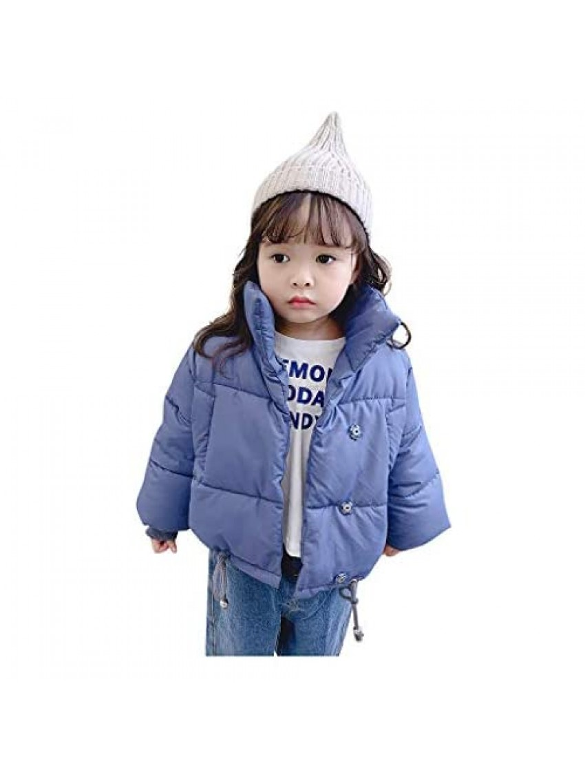 Baby Girl Winter Coat Infant Baby Boys Two Piece Set of Solid Color Sport Wool Suit