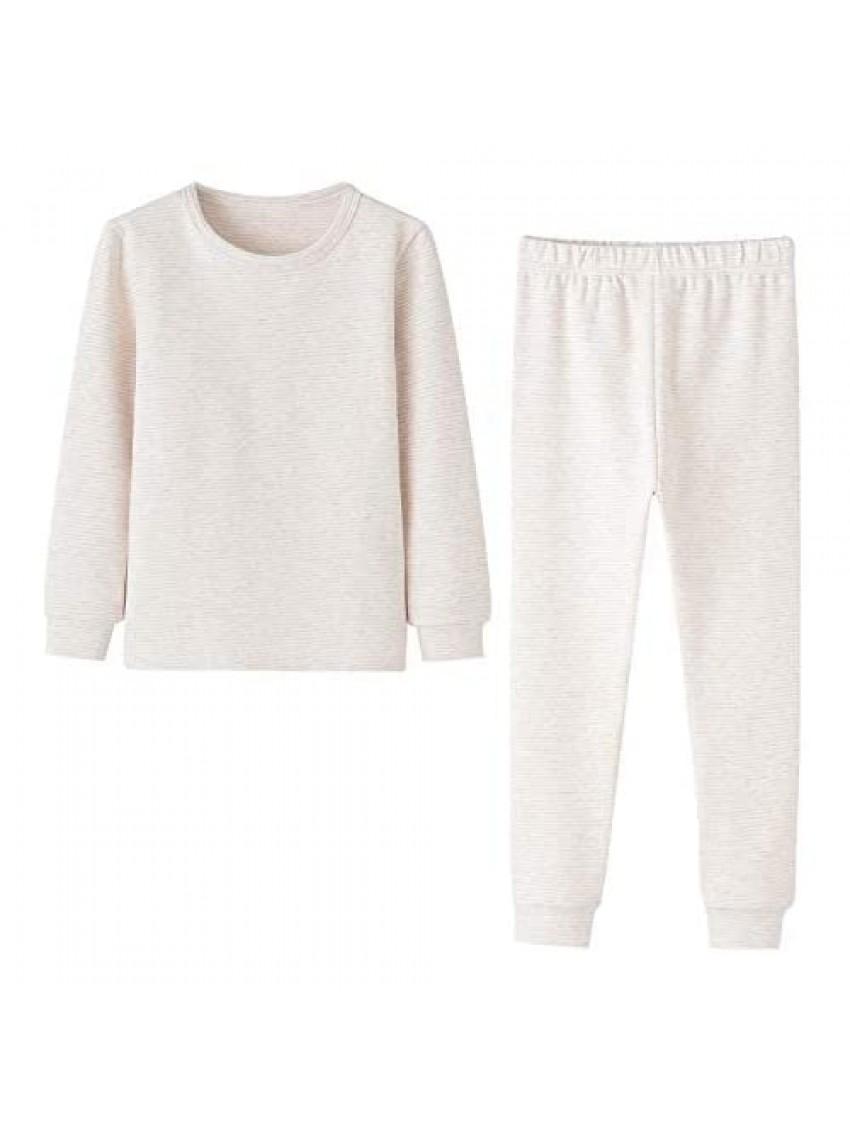 Enfants Chéris Toddler Pajamas Girls Boys Warm Cotton Pjs for Kids 24M-6 Years