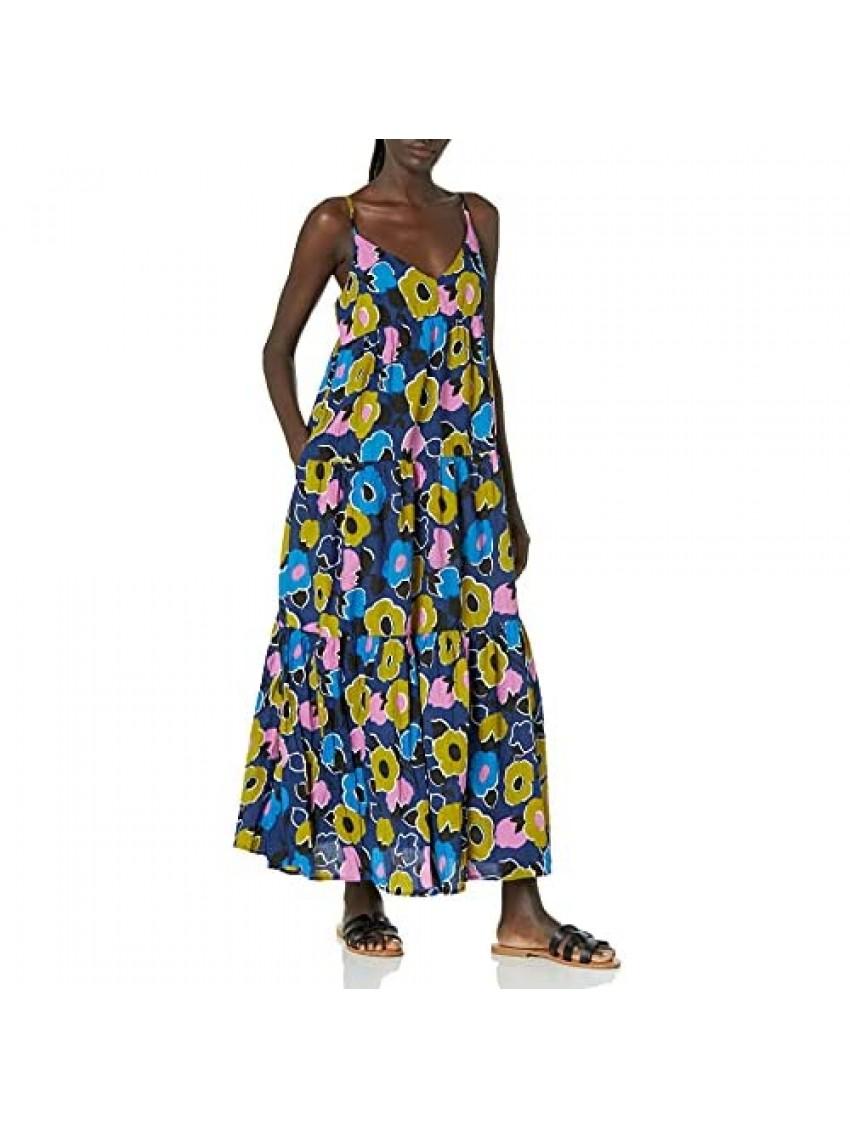 Velvet by Graham & Spencer Women's Colette Printed Cotton Maxi Dress