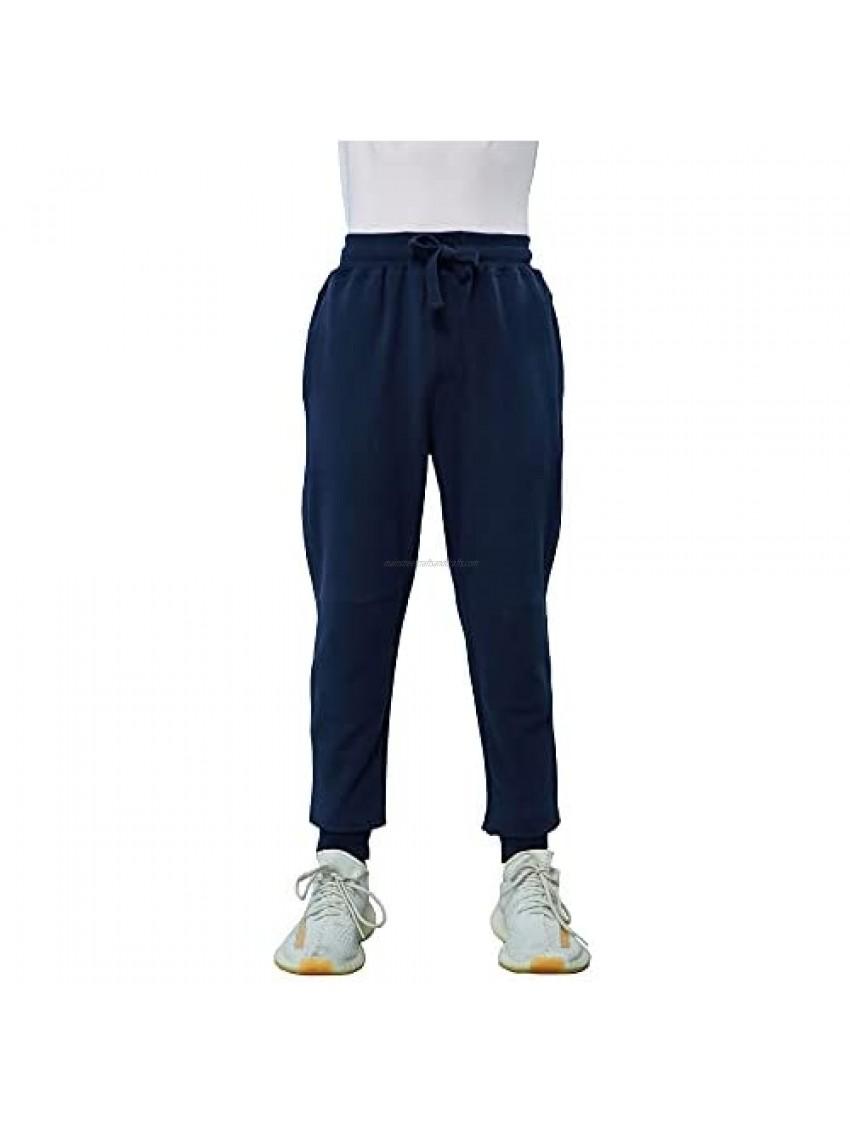 HiddenValor Boys Cotton Sweatpants Jogger Pants with Pockets (4-18)