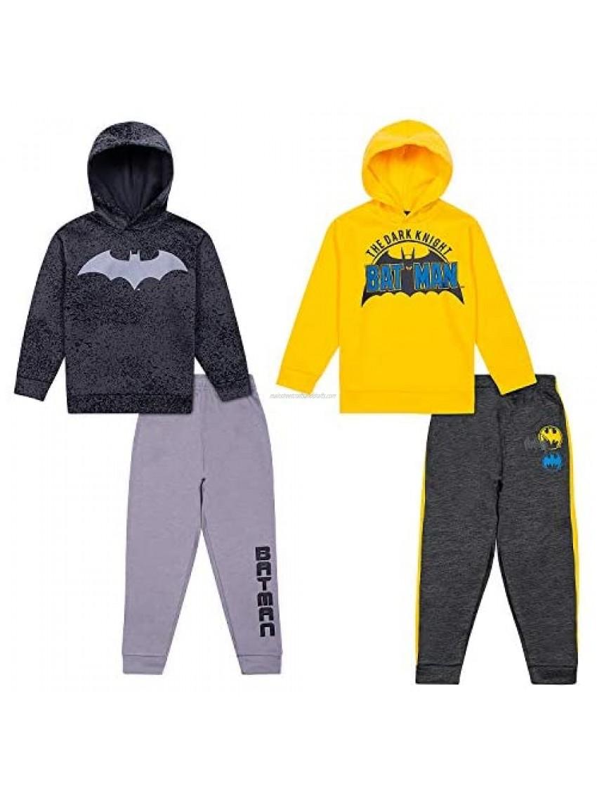 Batman Hoodies Sweatshirts & Sweatpants 4 Piece Set  Kids Clothes Activewear