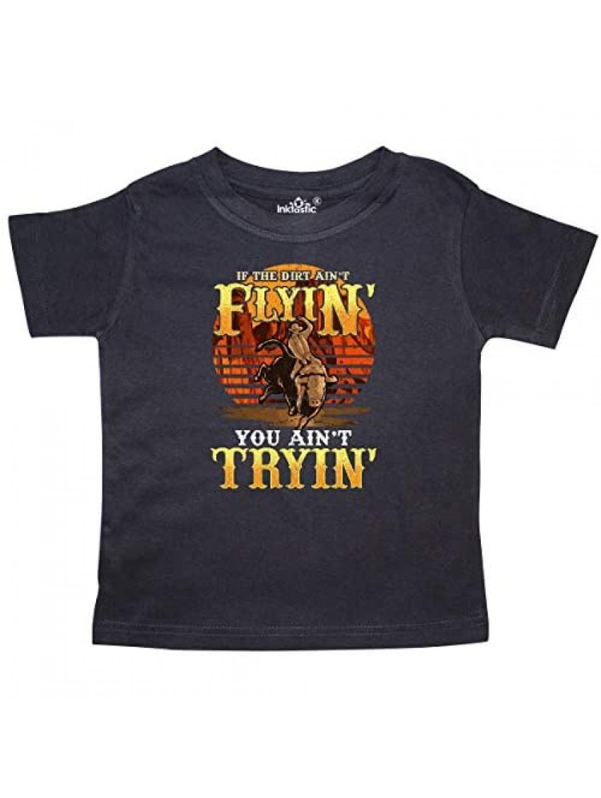 inktastic Bull Riding Rodeo Gift Toddler T-Shirt