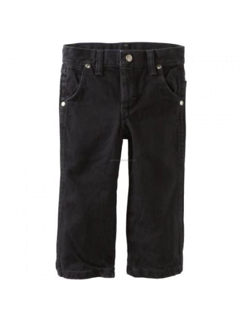 Wrangler Little Boys' Silver Edition Jeans  Black  2T