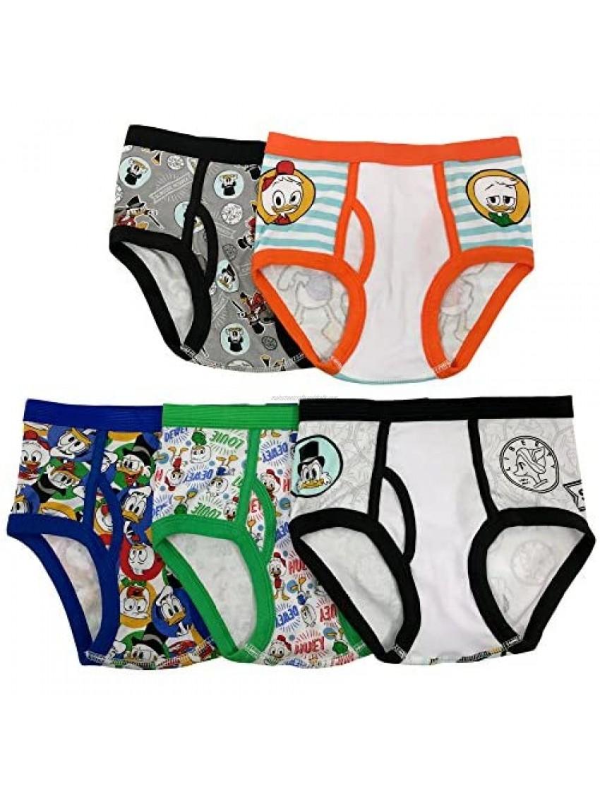 Disney Boys' Duck Tales 5-Pack Underwear Briefs
