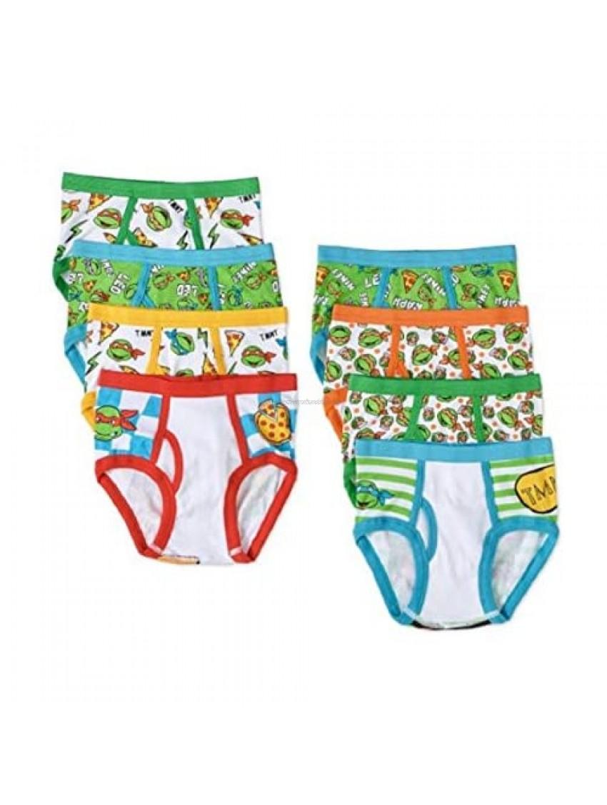 TMNT Turtle Boys 8 Pack Briefs Underwear - Teenage Mutant Ninja Turtles