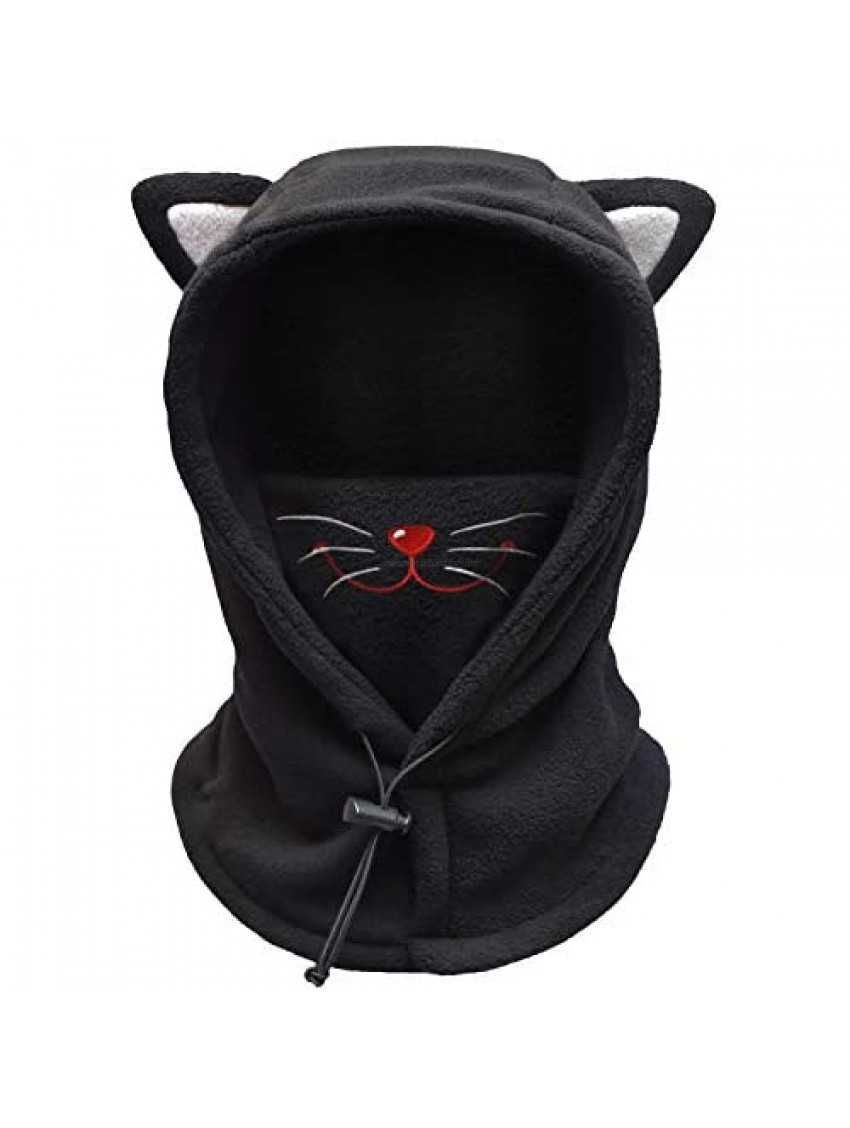 FCY Kids Balaclava Face Mask Boys/Girls Reusable Washable Cloth Full Face Masks Windproof Dust Mask Winter Hat