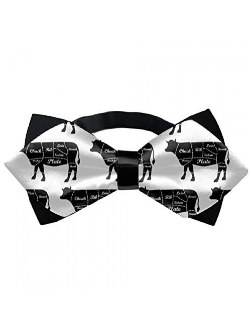 Bowtie  Adjustable Bowties Wedding Party  Formal Events  Fancy Plain Necktie