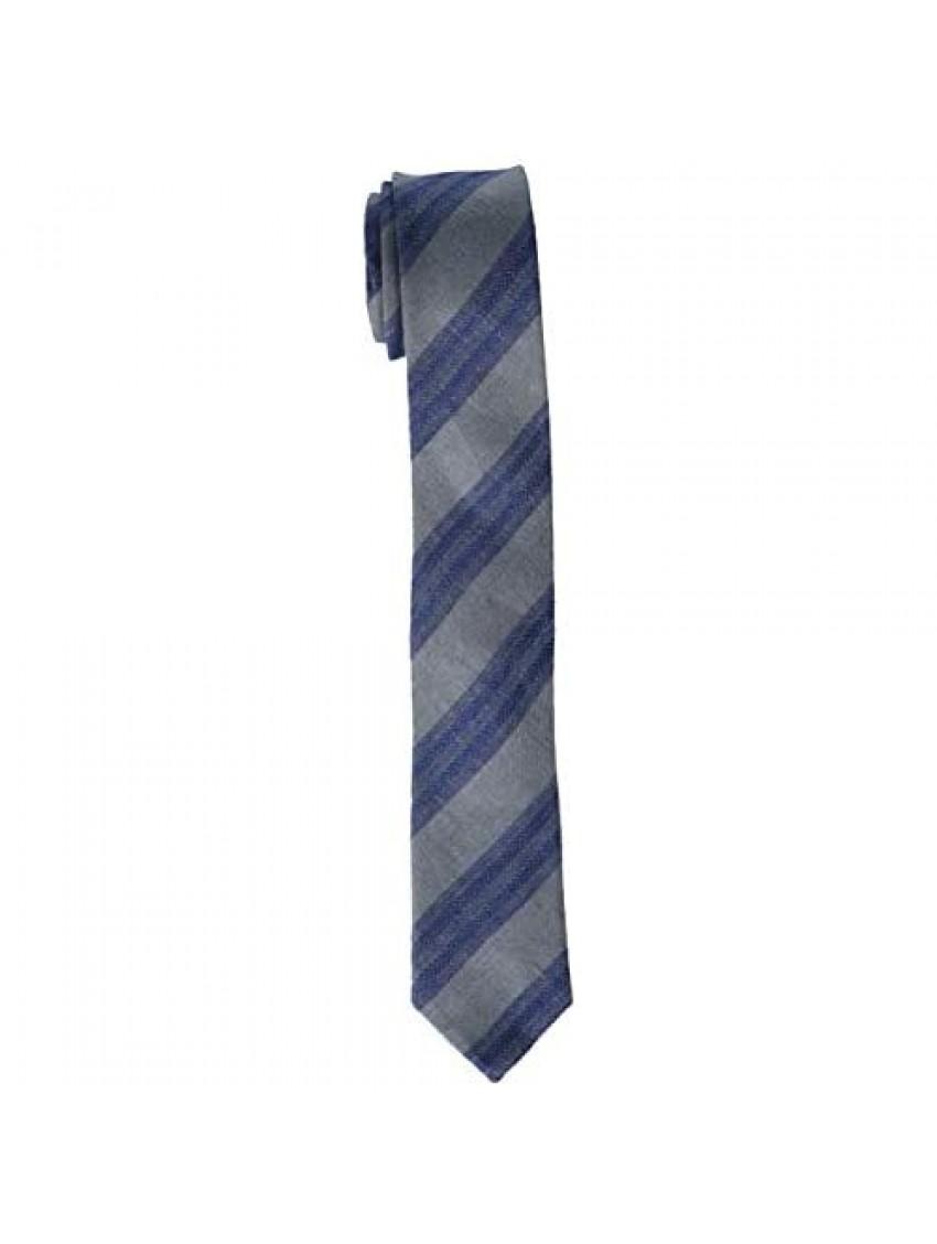 Isaac Mizrahi Boys' Silk Print Necktie  Multi  One Size