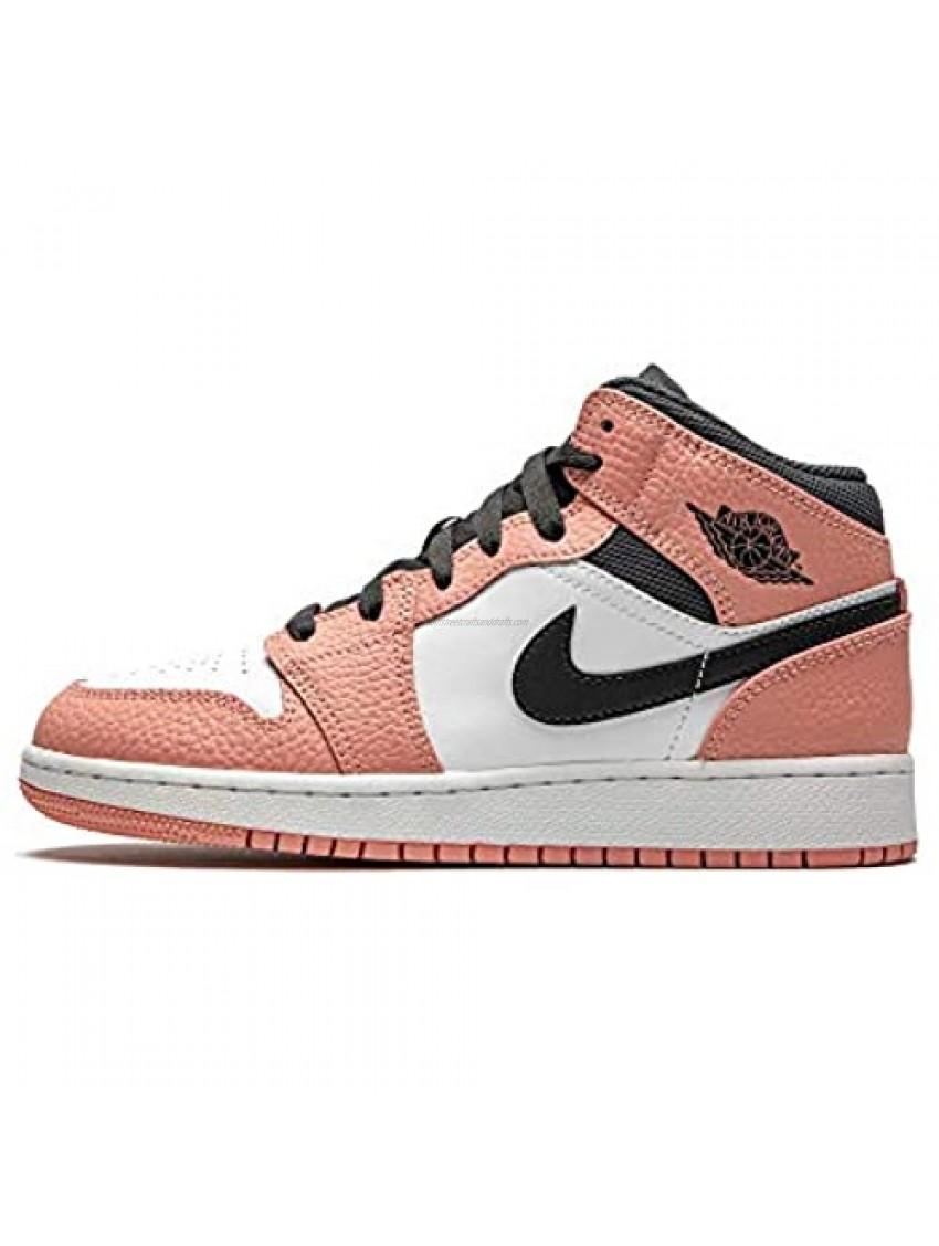 Jordan Youth Air 1 MID GS 555112 603 Pink Quartz - Size 4Y