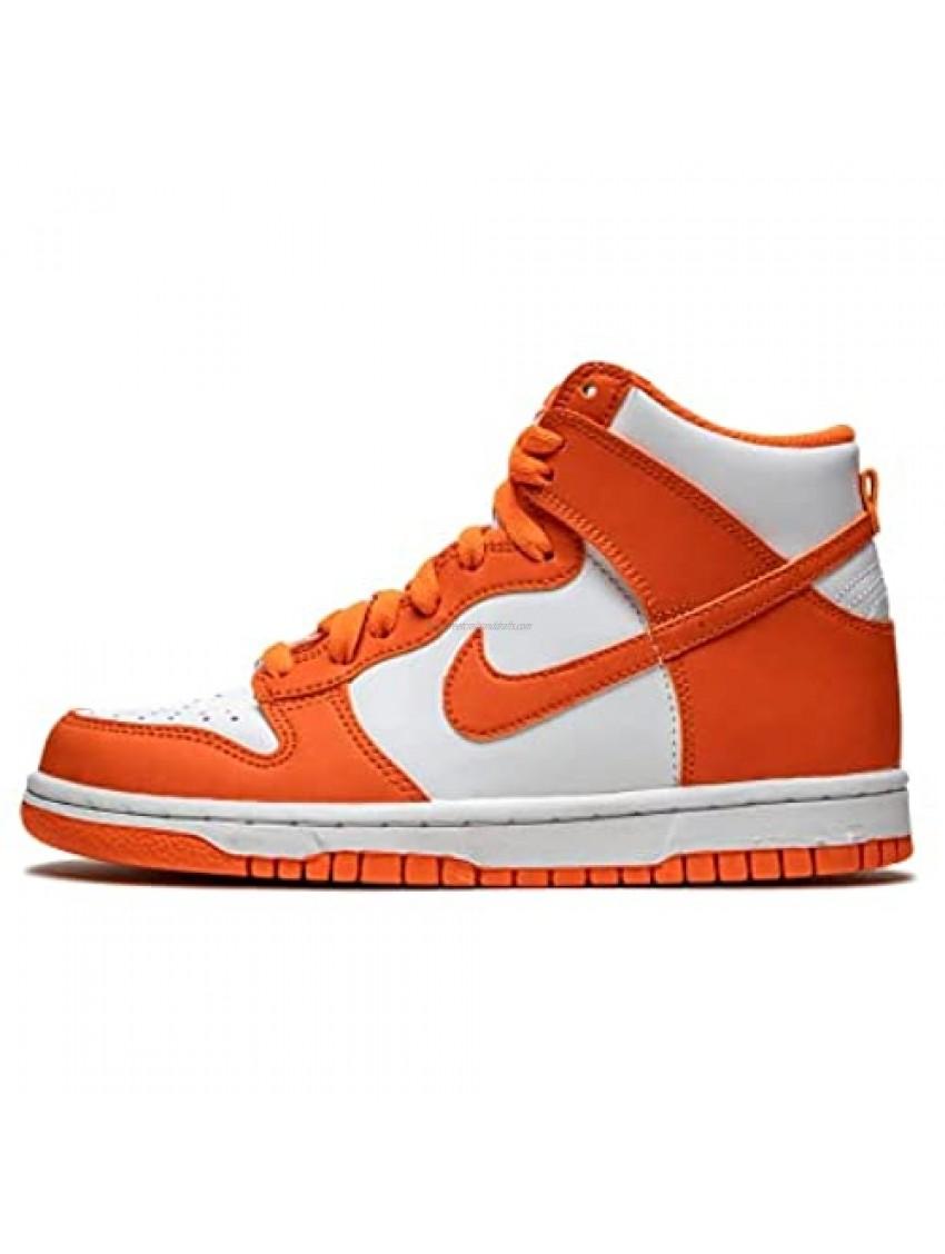 Nike Youth Dunk High GS DB2179 100 Syracuse - Size 4.5Y