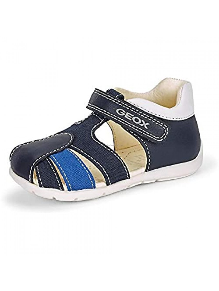 GEOX BOYS TODDLER ELTHAN 7 NAVY FIRST STEPS 4.5